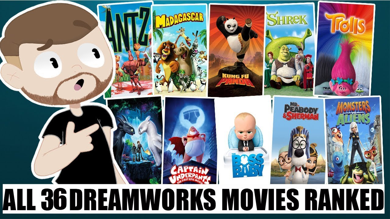 All 36 Dreamworks Animation Movies Ranked With How To Train Your Dragon 3 intérieur Film D Animation Dreamworks