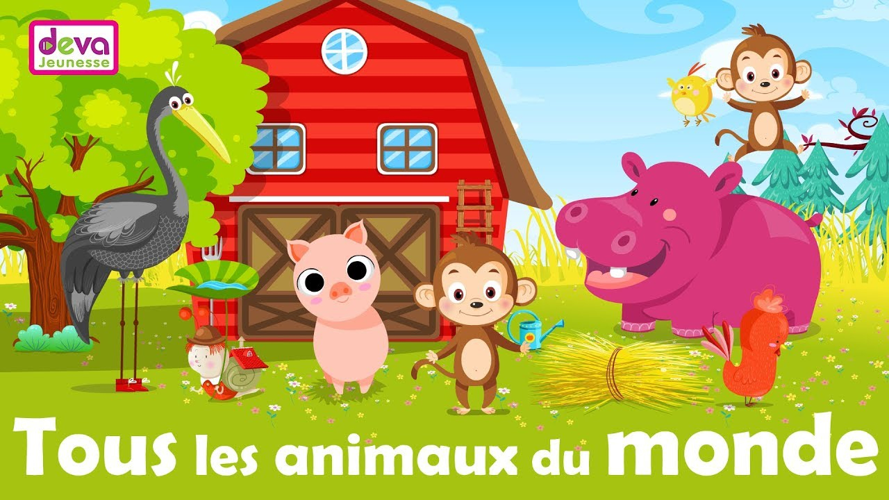 All The Animals Of The World - Learn French With Your Kid dedans Chanson Pour Les Animaux