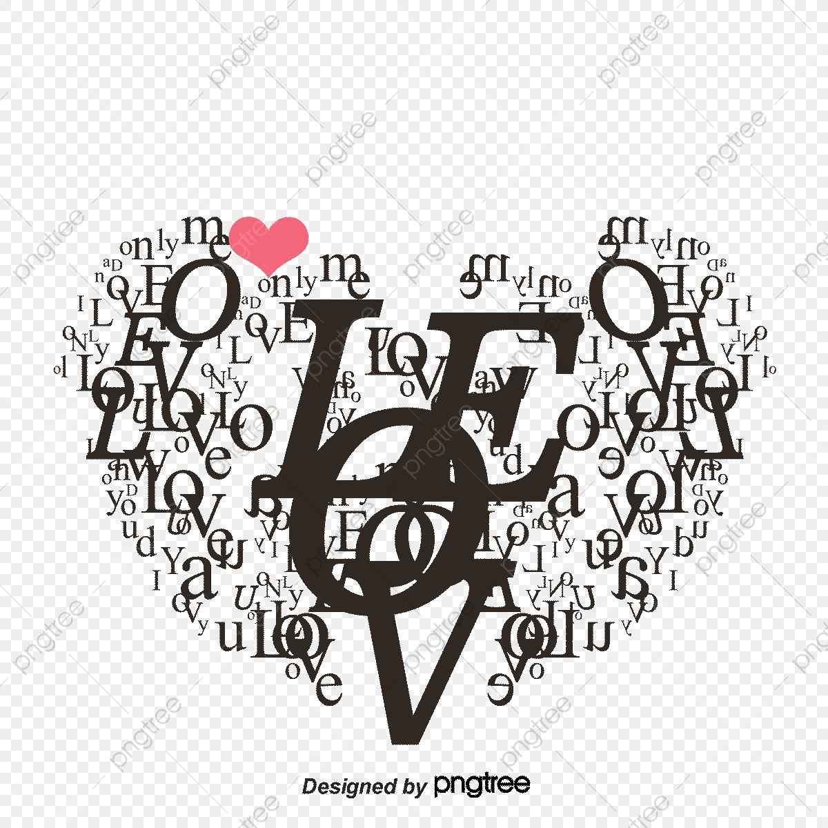 Alphabet Anglais Dessin Animé En Forme De Coeur Saint dedans Dessin Pour La Saint Valentin