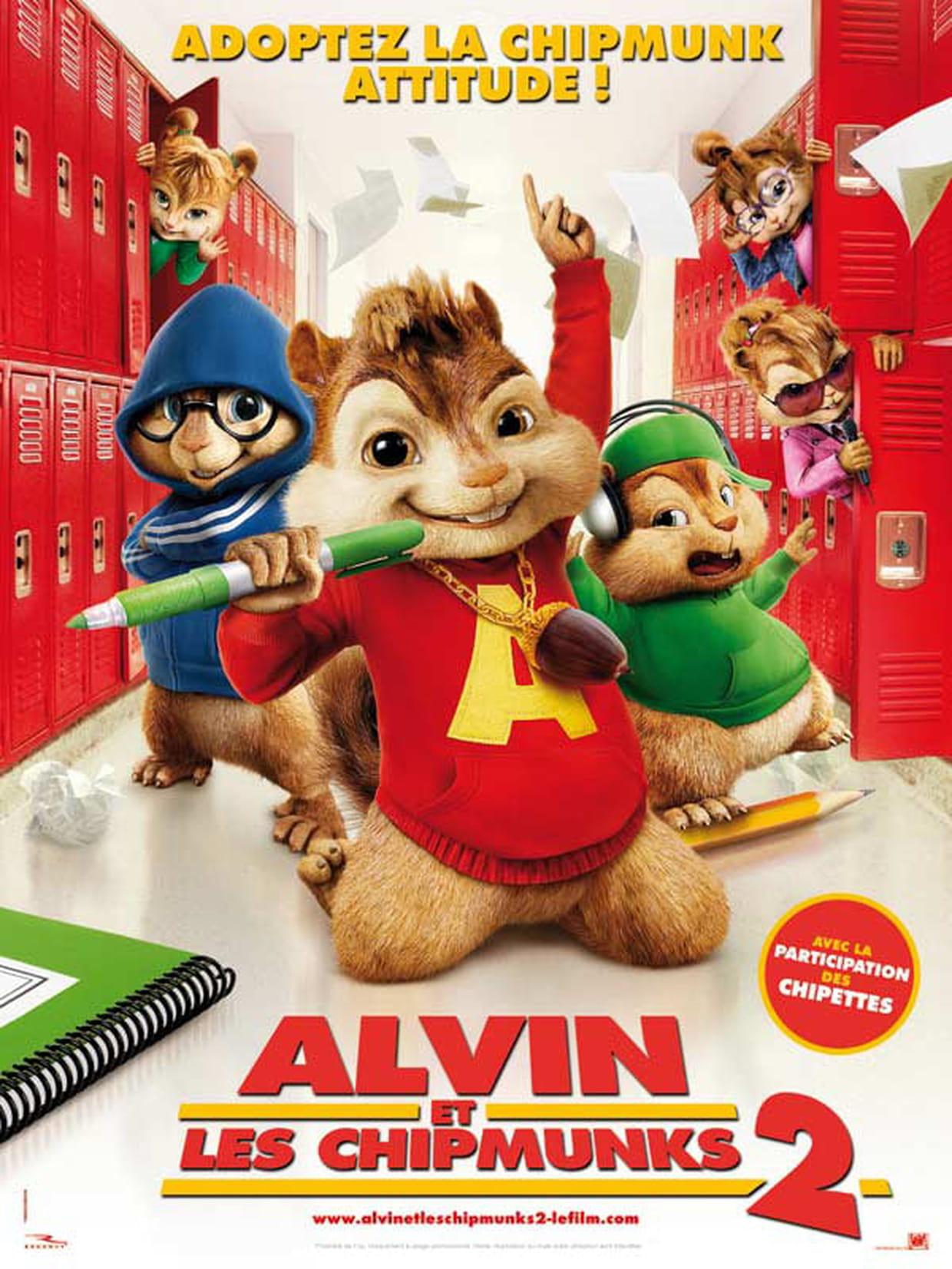 Alvin Et Les Chipmunks 2 : Bande Annonce Du Film, Séances tout Dessin De Alvin Et Les Chipmunks