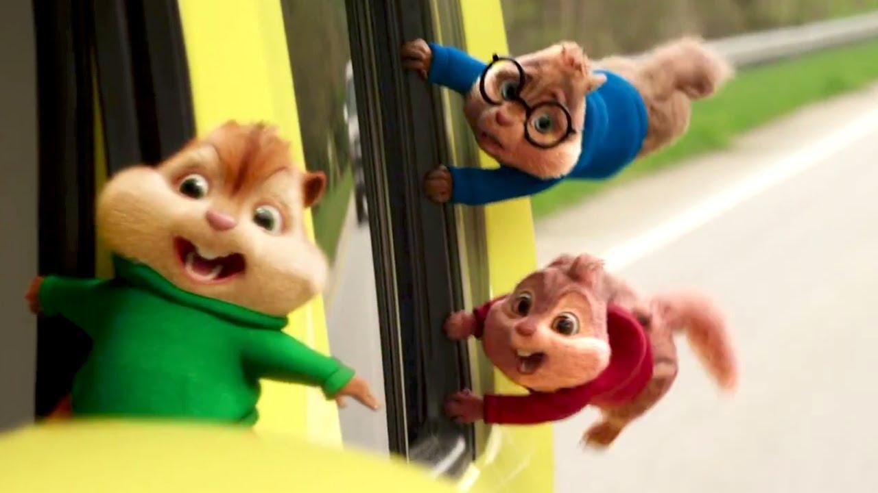Alvin Et Les Chipmunks 4 À Fond La Caisse Bande Annonce (2016) à Dessin De Alvin Et Les Chipmunks