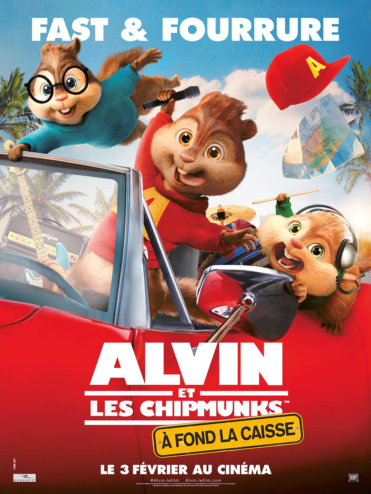 Alvin Et Les Chipmunks - A Fond La Caisse - Film 2015 - Allociné avec Dessin De Alvin Et Les Chipmunks