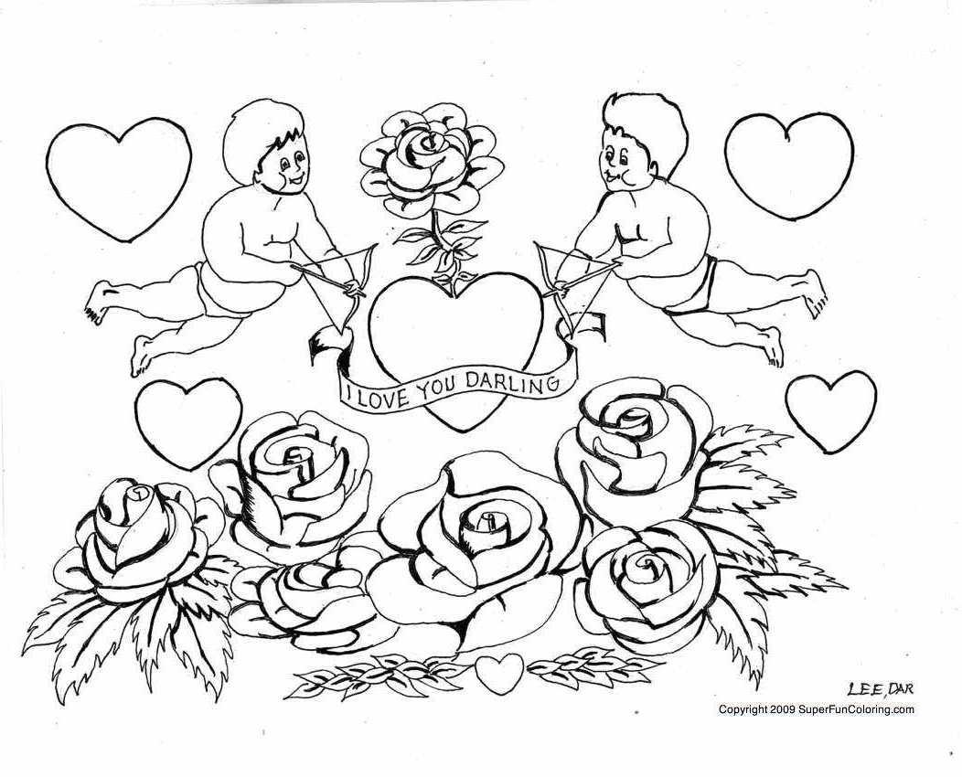 Amoureux #33 (Personnages) – Coloriages À Imprimer serapportantà Zou Coloriage