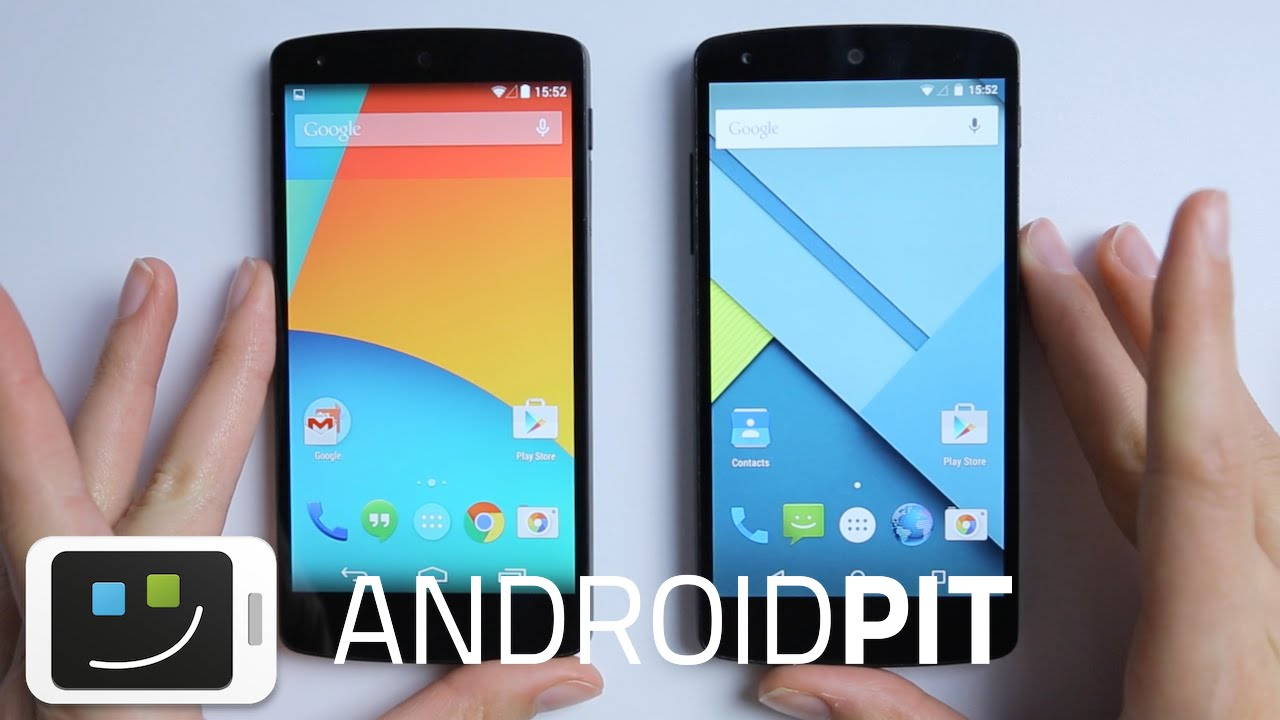Android Lollipop Vs Android Kitkat : Les Différences En 5 Points ! serapportantà Les 5 Differences