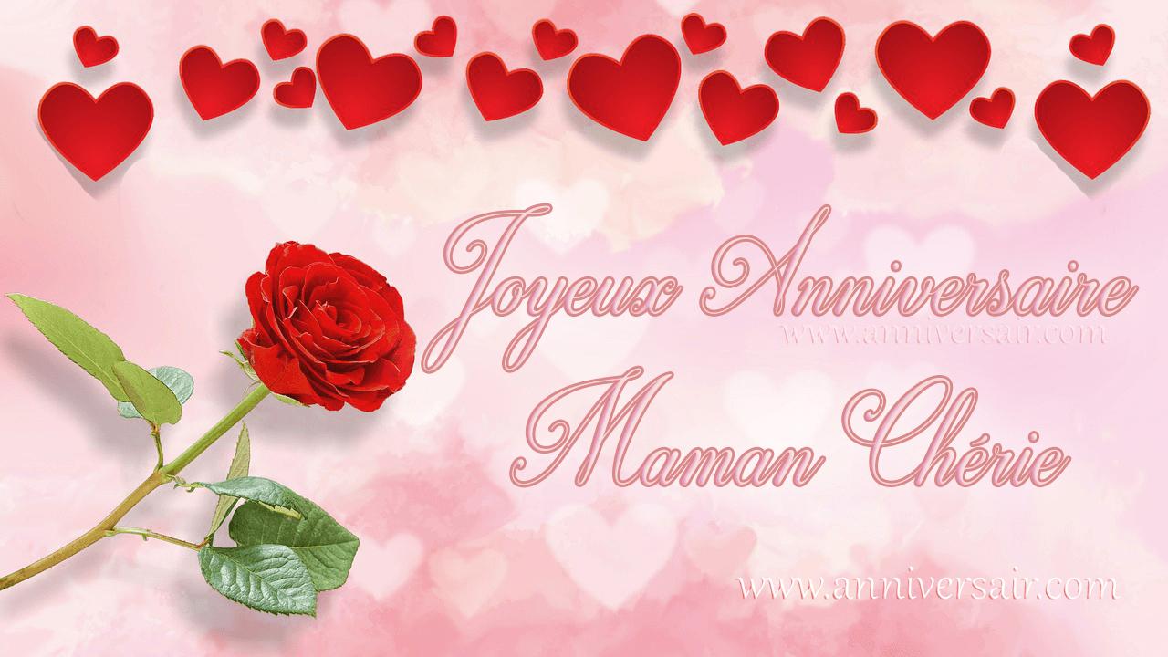 Anniversaire Maman, Joyeux Anniversaire Maman ! - pour Carte Bonne Fete Maman A Imprimer