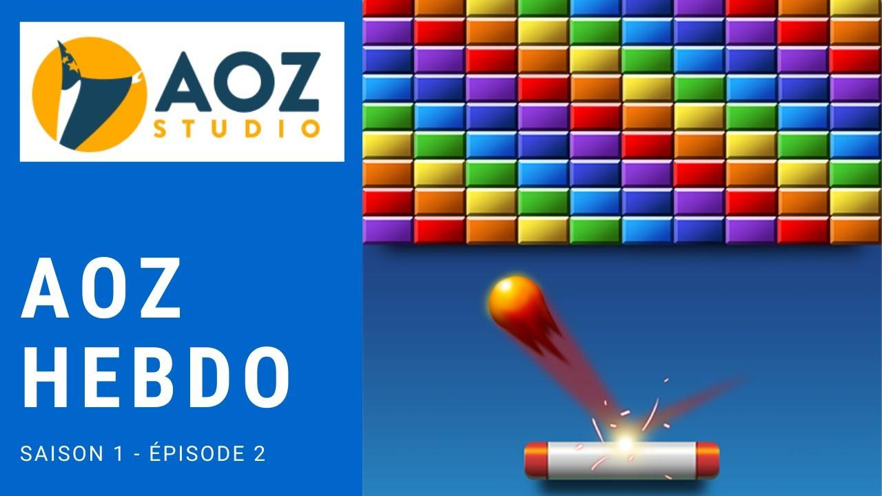 Aoz Hebdo : Un Casse Brique Codé En 1 Heure Avec Aoz Studio (Saison 1 -  Episode 2) encequiconcerne Jeux De Casse Brique Gratuit En Ligne