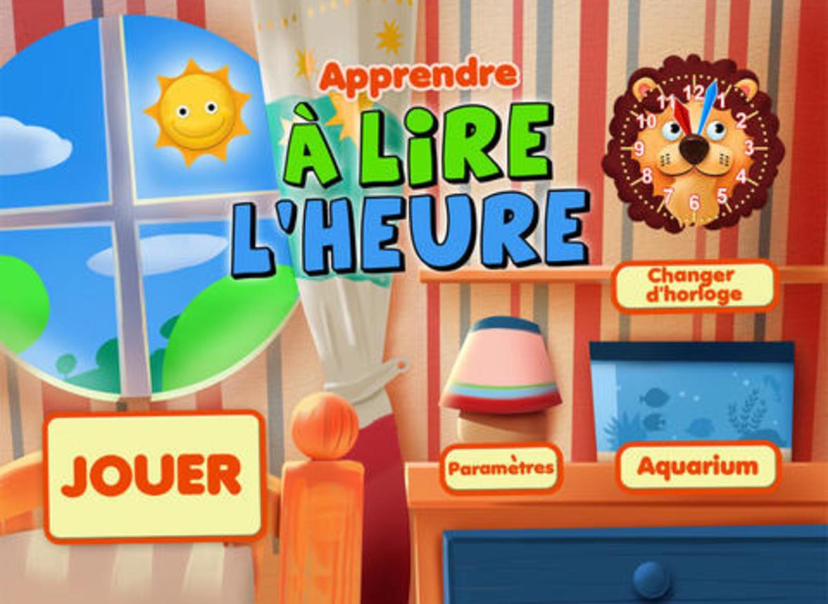 Apprendre À Lire L'heure Gratuit - Application - tout Le Petit Ogre Qui Voulait Apprendre À Lire