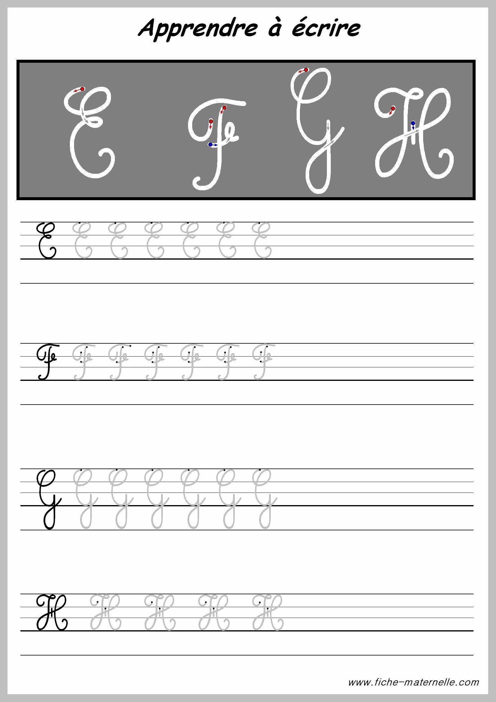 Apprendre À Tracer Les Lettres Majuscules (Avec Images encequiconcerne T Majuscule En Cursive