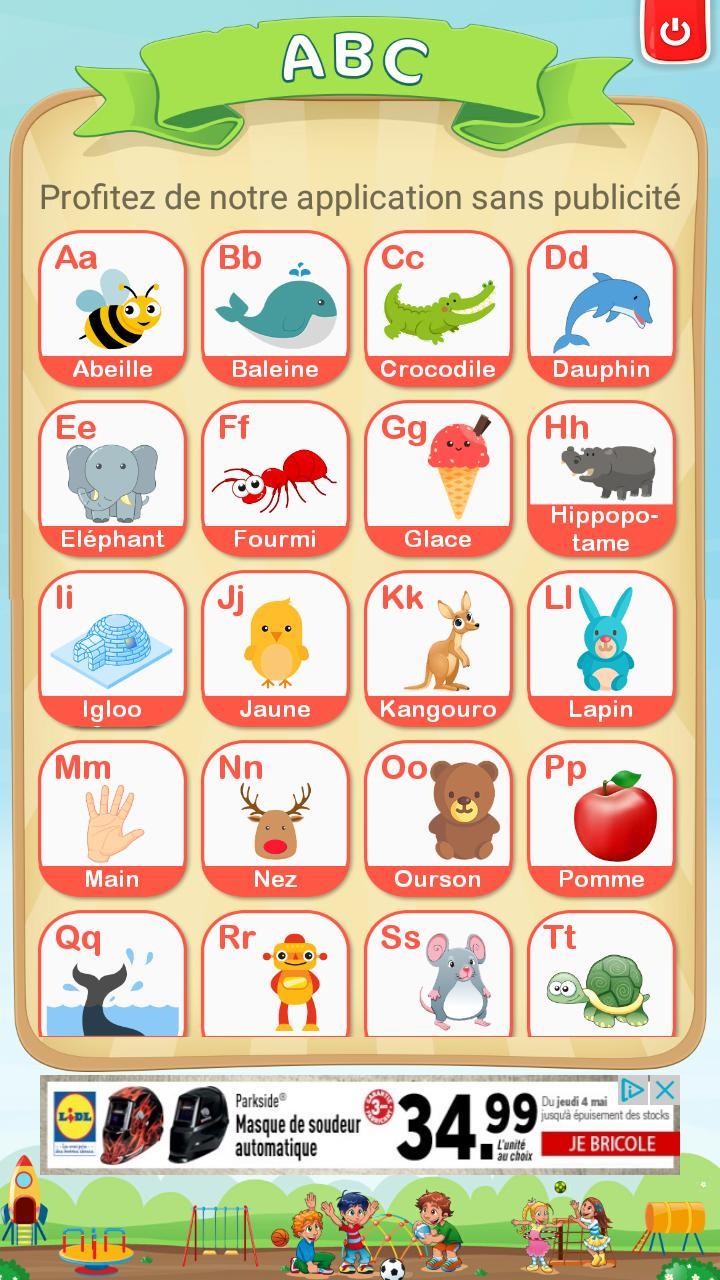 Apprendre L'alphabet Et Chiffres Français Gratuit Pour serapportantà Chanson Des Chiffres En Français