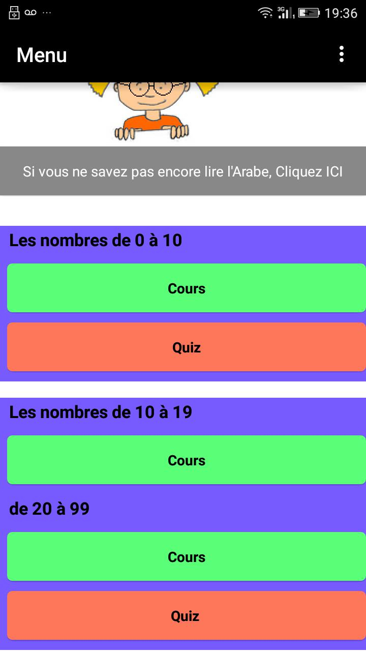 Apprendre L'arabe - Les Nombres Für Android - Apk Herunterladen avec Les Nombres De 0 À 20