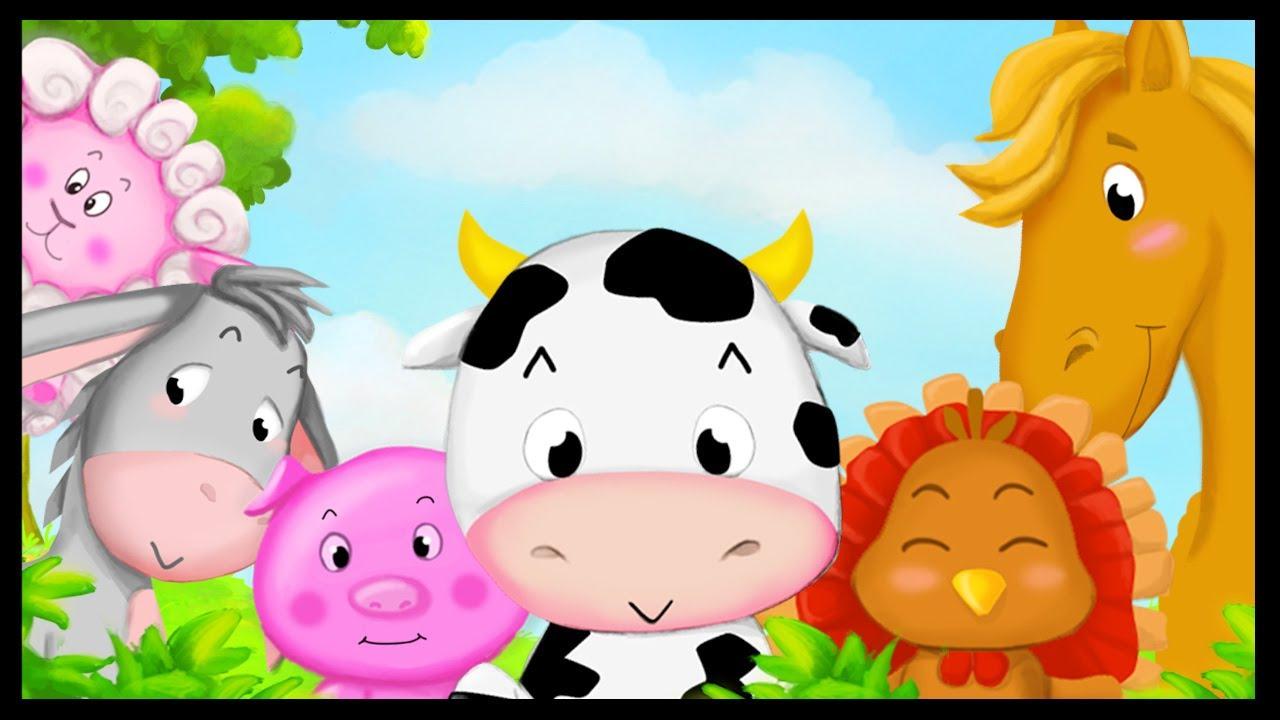Apprendre Les Animaux De La Ferme En Français destiné Apprendre Les Animaux Pour Bebe