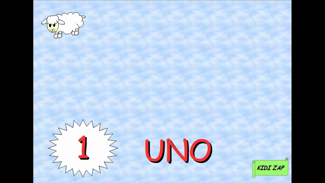 Apprendre Les Chiffres En Espagnol, Los Numeros De 1 A 10 dedans Nombre En Espagnol De 1 A 1000