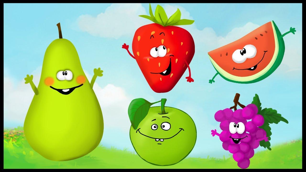 Apprendre Les Fruits En S'amusant (Français) destiné Chanson Sur Les Fruits Et Légumes
