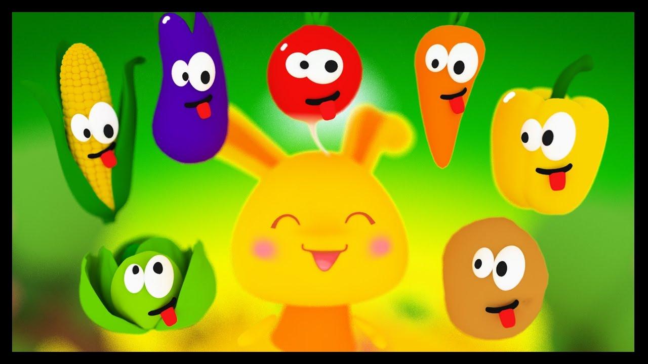 Apprendre Les Légumes En Français - Titounis Découverte - Dessin Animé Et  Comptines avec Chanson Sur Les Fruits Et Légumes
