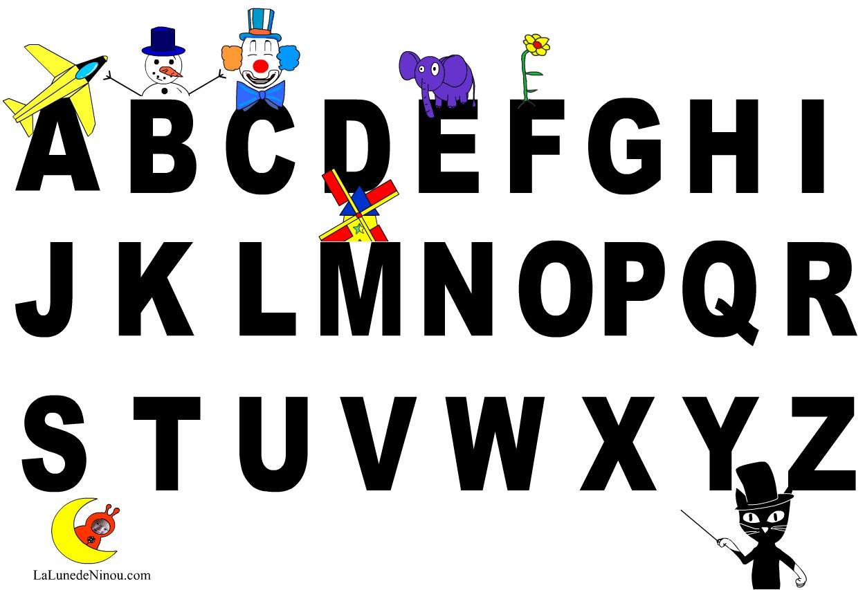 Apprendre Les Lettres De L'alphabet - Jeux Pour Enfants Sur à Jeux De Lettres Enfants