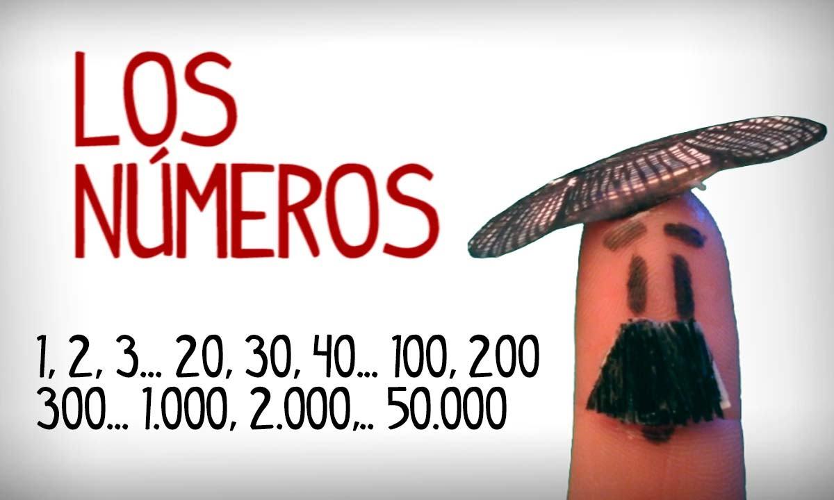 Apprenez Les Nombres En Espagnol 1-50000 dedans Chiffres Espagnol 1 À 1000