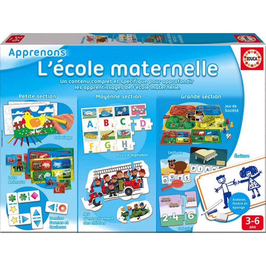Apprenons L'école Maternelle, Educa, Jeux, Apprentissage intérieur Jeux Enfant Maternelle