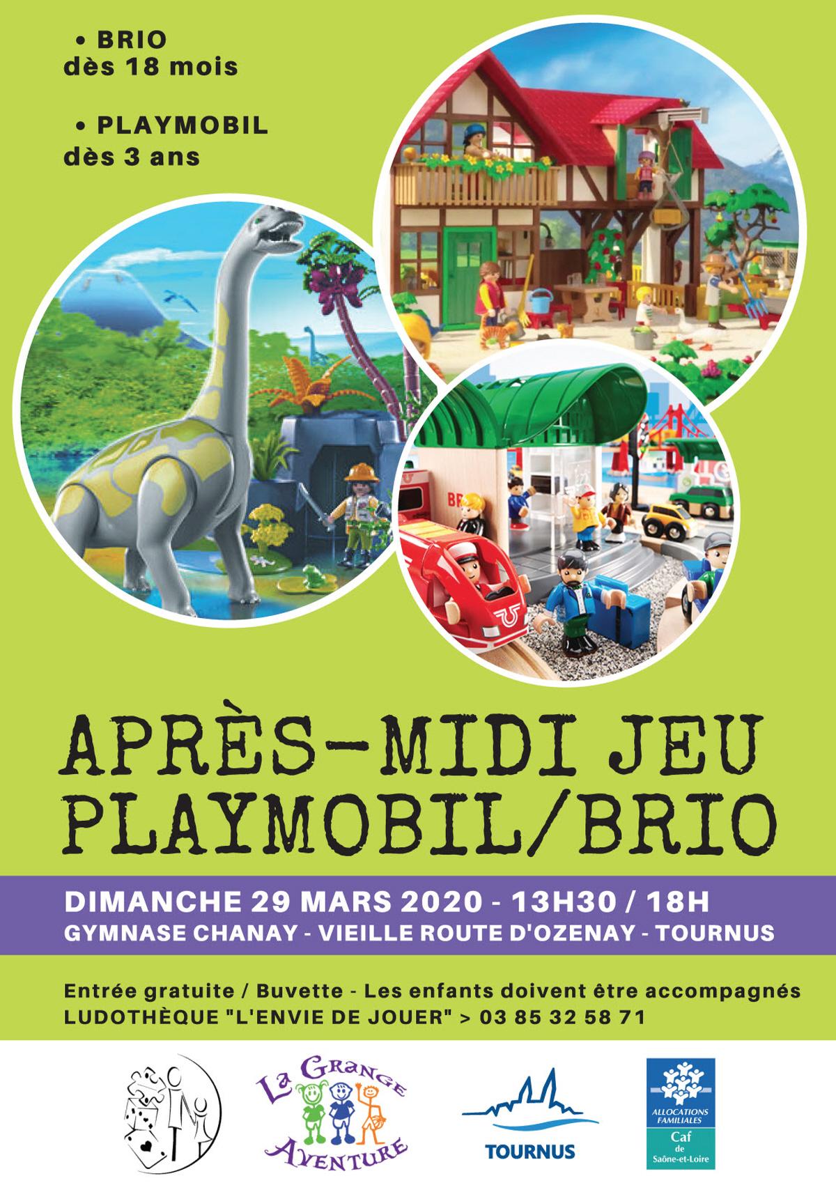 Apres Midi Jeu Playmobil/brio : Jeu, Concours A Tournus serapportantà Jeux Enfant 3 Ans Gratuit