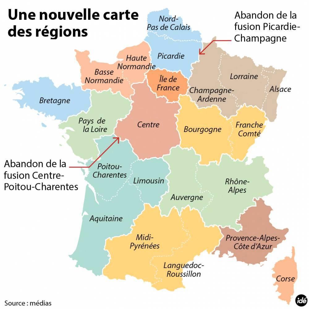 April | 2015 | La Vie Franco-Allemande avec Nouvelle Carte Des Régions De France