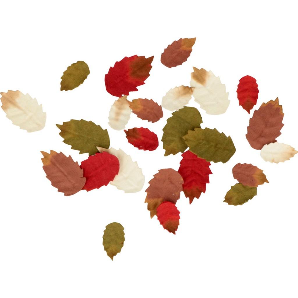 Assortiment De Petites Feuilles D'automne Woodland En Papier X24 encequiconcerne Caractéristiques De L Automne