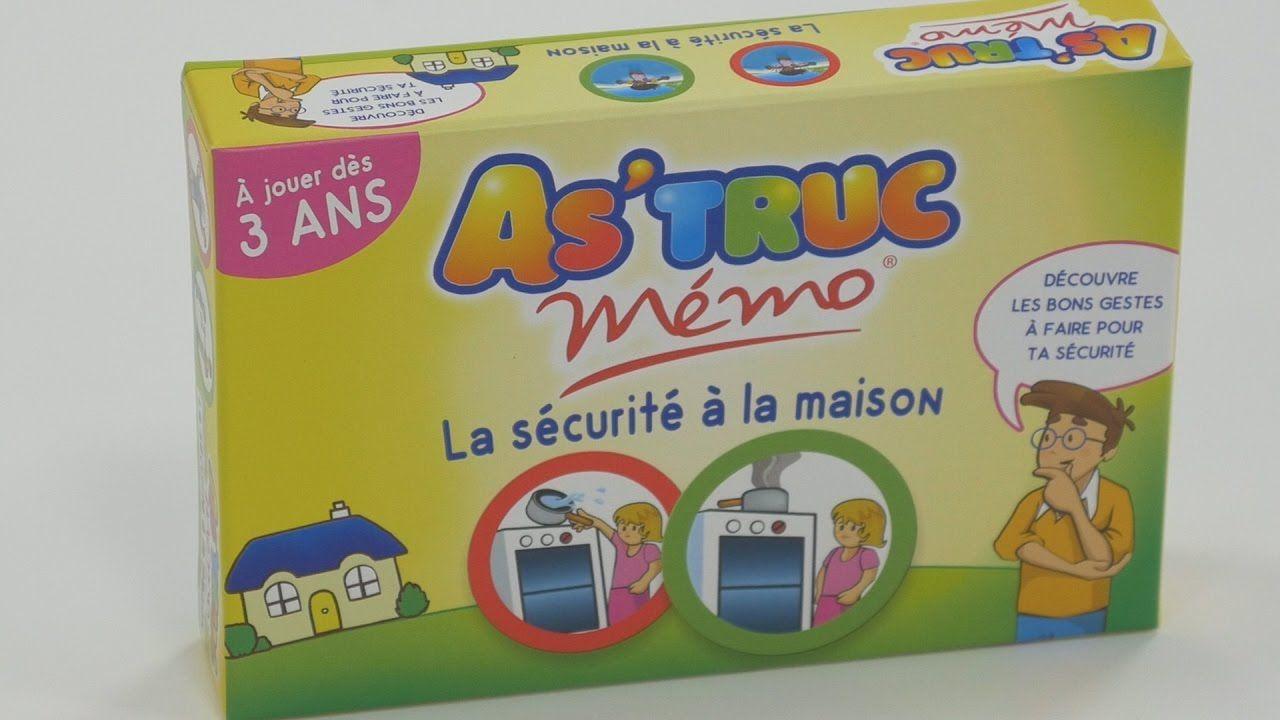 As'truc: La Sécurité À La Maison (Jeu Éducatif)    Jeu à Jeux Educatif 3 v