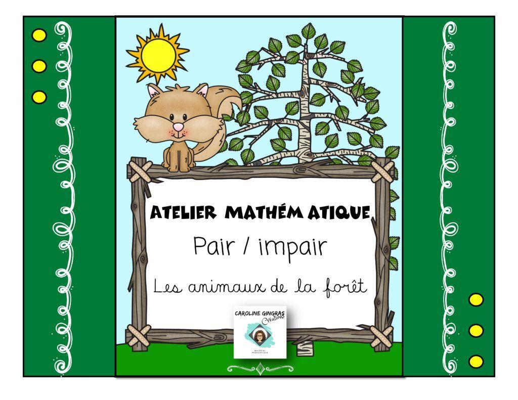 Atelier Animaux Pair-Impair | Animaux à Nombres Pairs Et Impairs Ce2