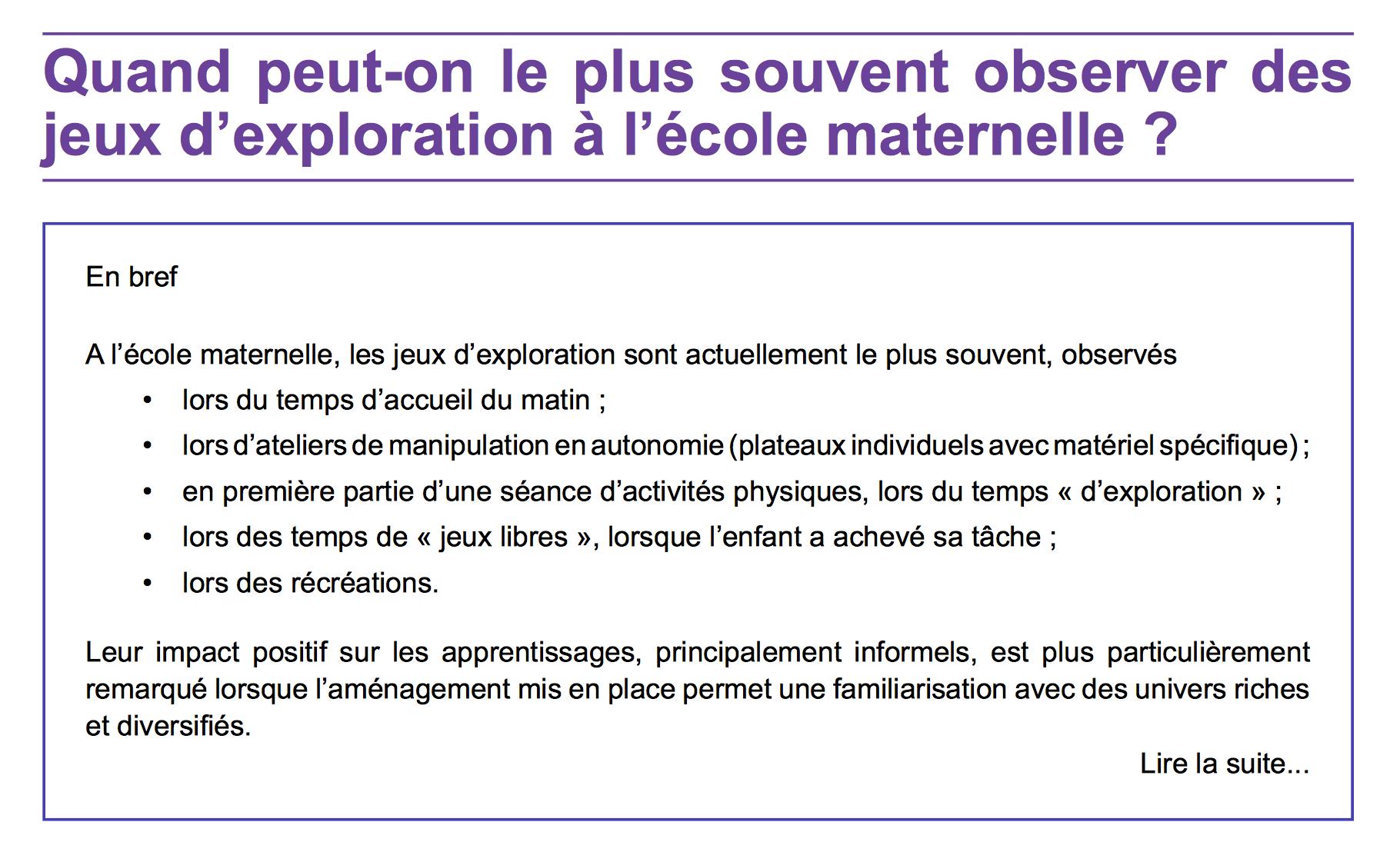 Atelier D'explorations Libres dedans Jeux Enfant Maternelle