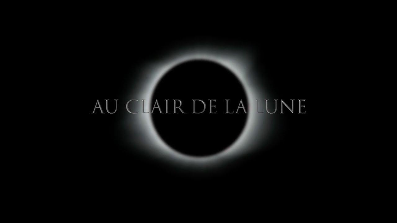 Au Clair De La Lune- Lisa Shalom & Maxime Ethier- Music Video dedans Clair De La Lune Lyrics
