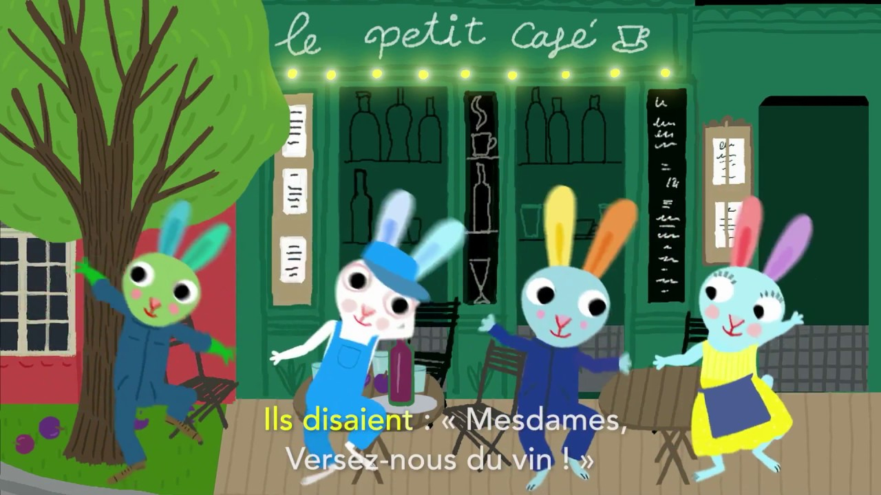 Au Clair De La Lune, Trois Petits Lapins - Chansons Et Comptines Pour  Enfants Avec Pinpin Et Lili encequiconcerne Chanson Enfant Lapin