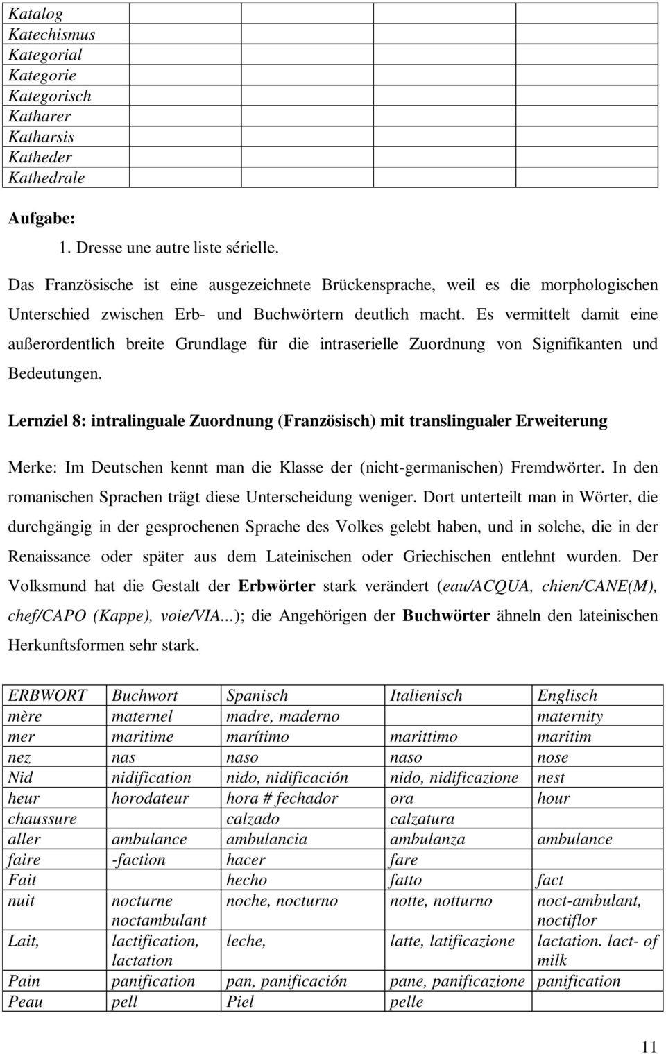 Aus Der Mehrsprachenwerkstatt: Lexikalische Übungen Zum pour Chiffres Espagnol 1 À 1000
