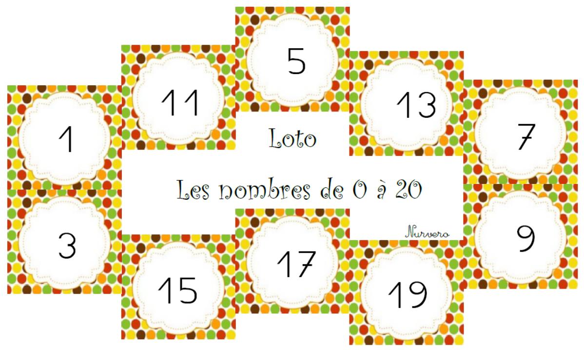 Autour Des Nombres 0-20   Maths Maternelle, Mathématiques avec Les Nombres De 0 À 20