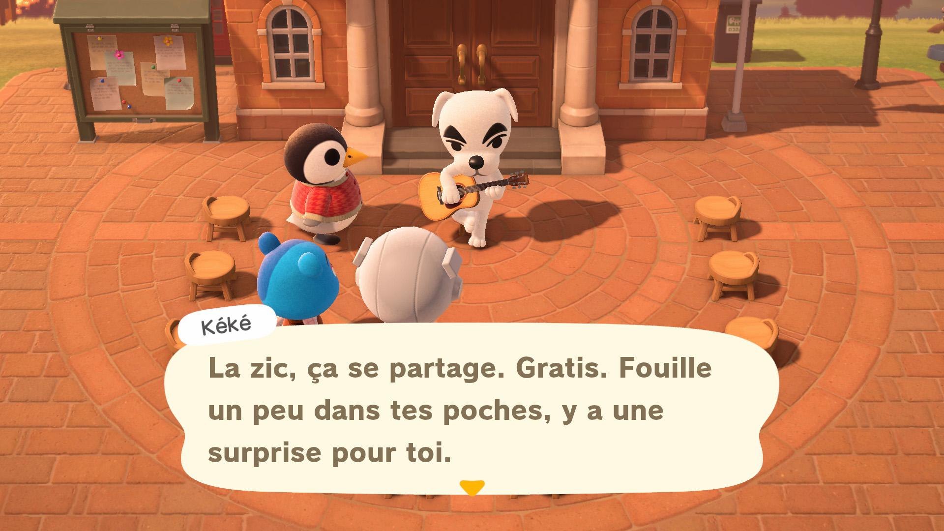 Avoir Des Chansons De Kéké Gratuites | Guide Animal Crossing concernant Chanson Pour Les Animaux