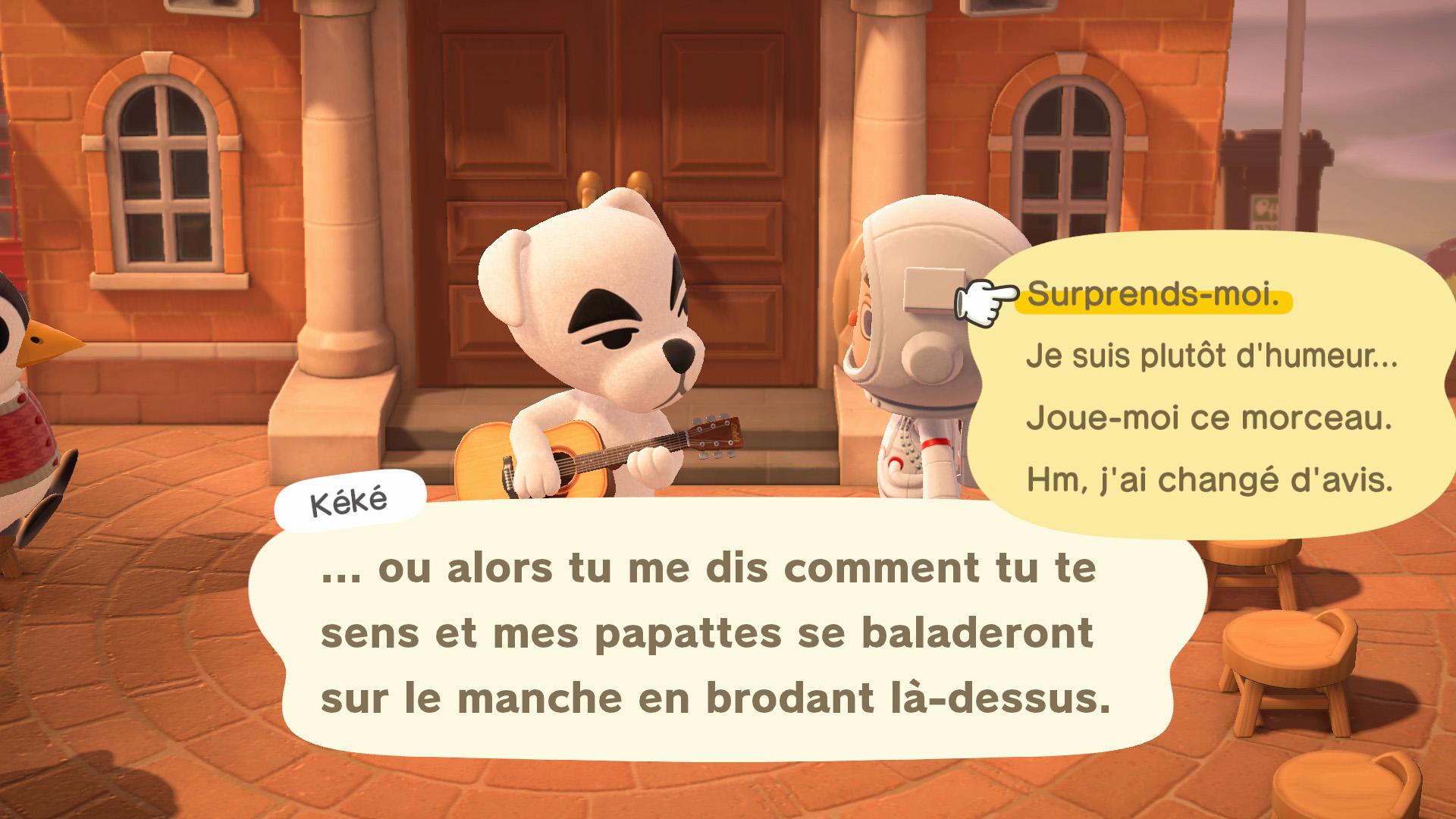 Avoir Des Chansons De Kéké Gratuites | Guide Animal Crossing encequiconcerne Chanson Pour Les Animaux