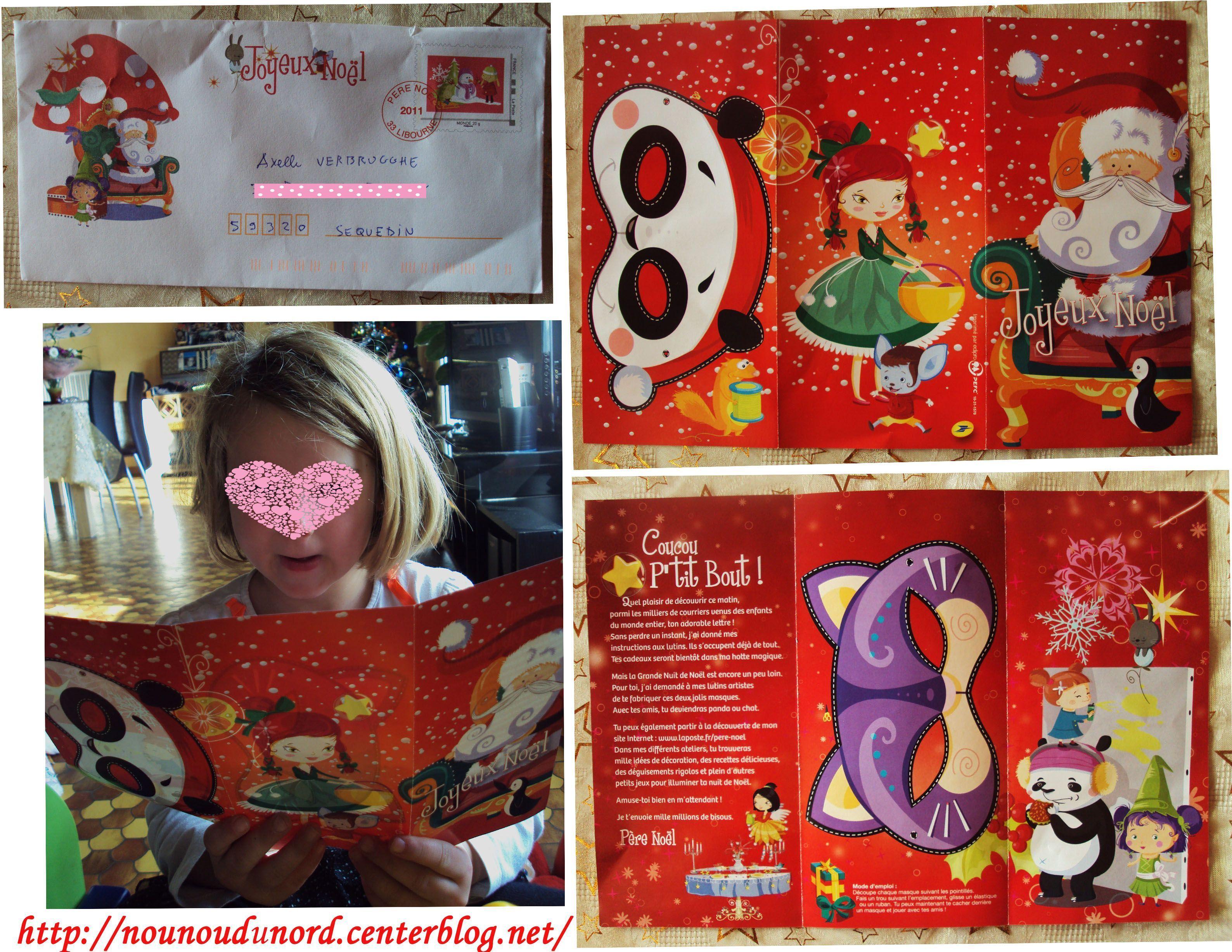 Axelle A Reçu La Réponse Du Père Noël encequiconcerne Reponse Lettre Du Pere Noel A Imprimer