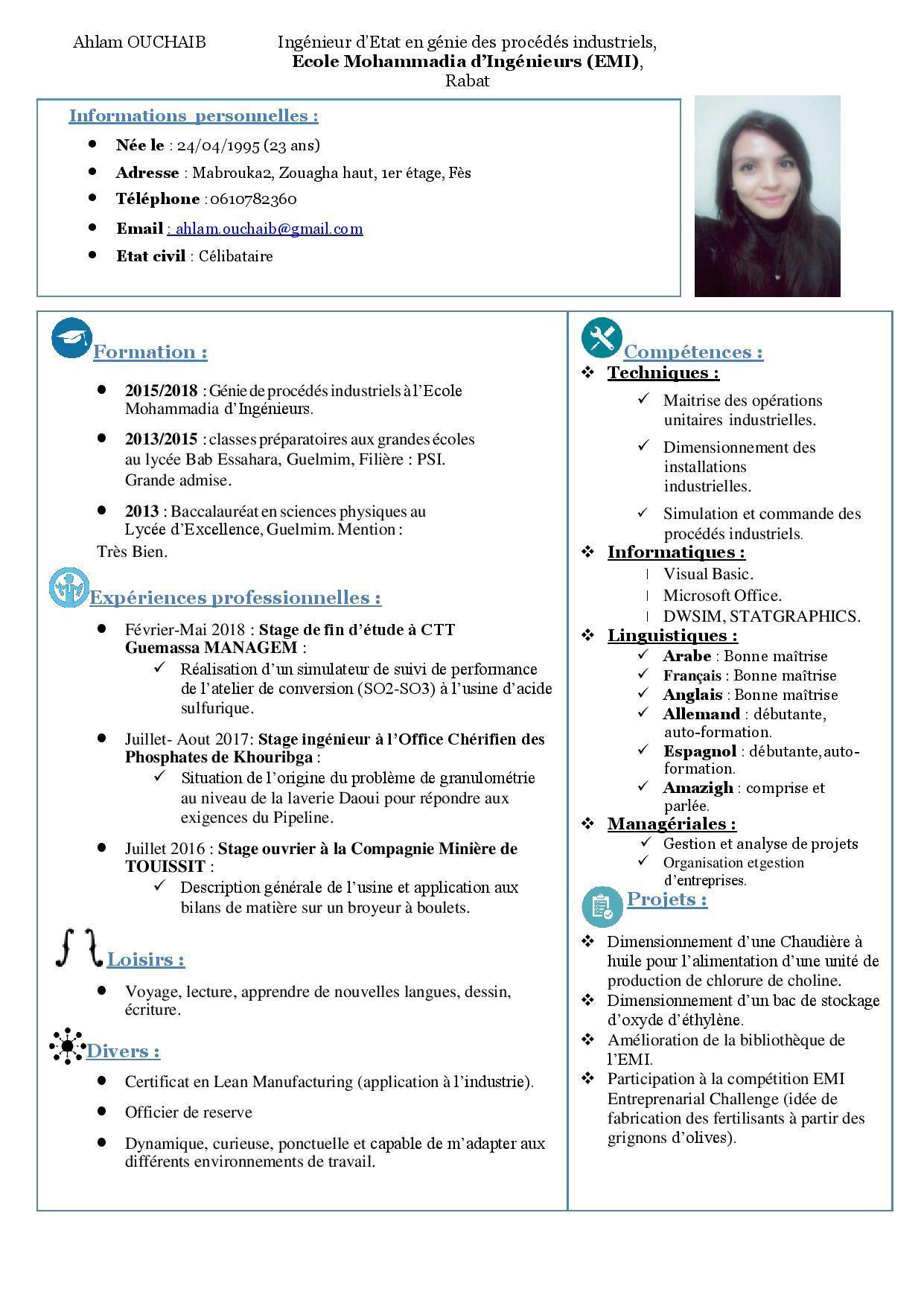 Ayoub Bounaga – Software Engineer Intern – Elektrobit (Eb pour Atelier Autonome Grande Section