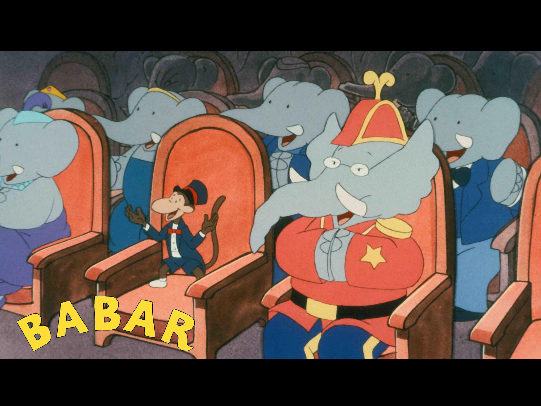 Babar : Babar Fait Le Singe (Ep23) Episode Complet - Youpi tout Singe De Babar