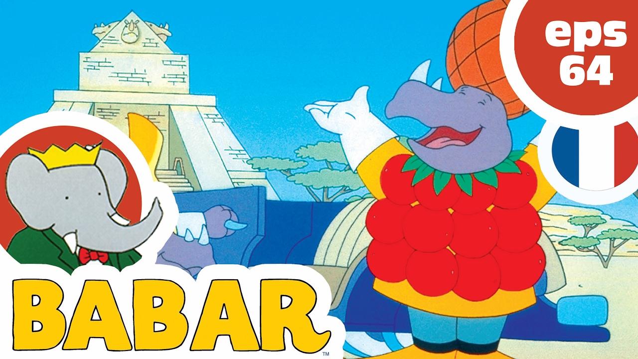Babar - Ep64 - Le Robot En Folie concernant Singe De Babar