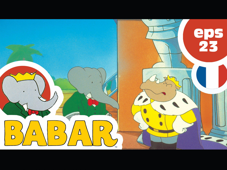 Babar / Episode 23 / Babar Fait Le Singe concernant Singe De Babar