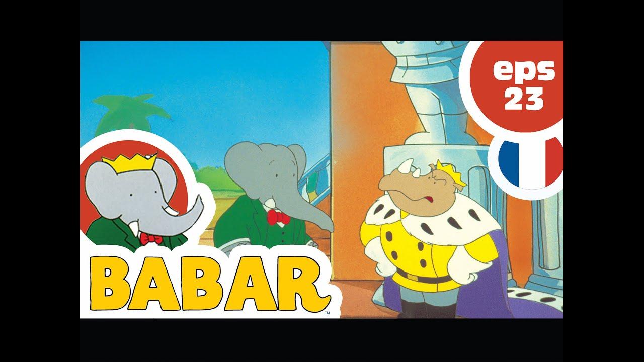 Babar / Episode 23 / Babar Fait Le Singe serapportantà Singe De Babar