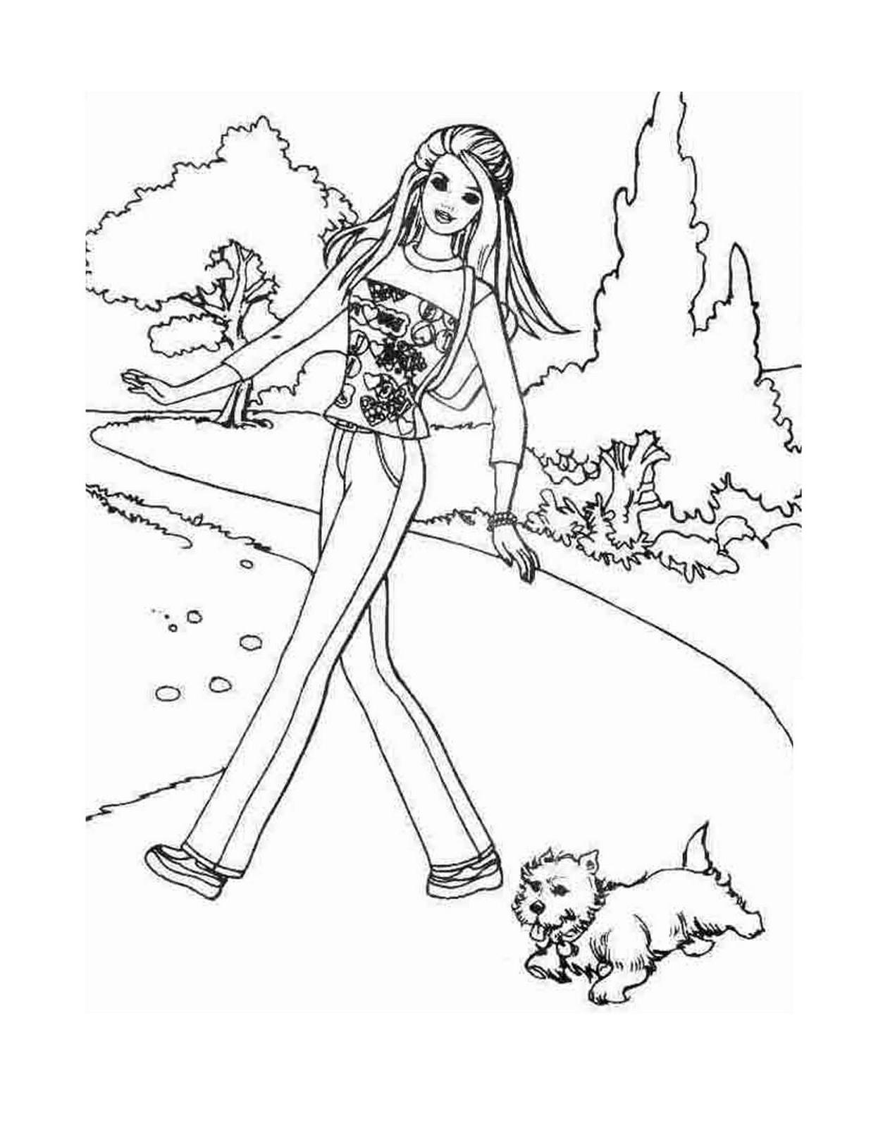 Barbie #199 (Dessins Animés) – Coloriages À Imprimer intérieur Imprimer Barbie