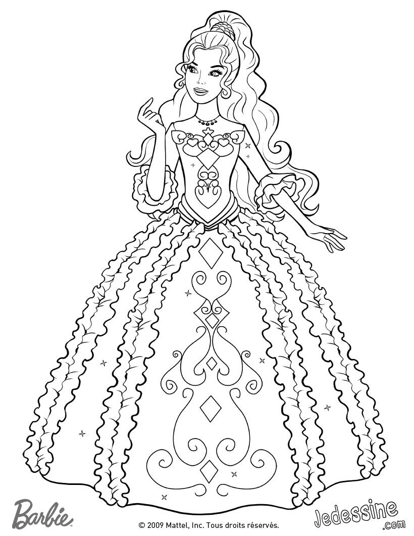 Barbie #58 (Dessins Animés) – Coloriages À Imprimer dedans Imprimer Barbie