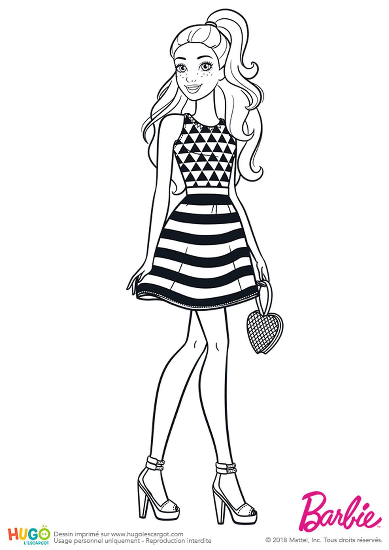 Barbie Fashionistas, Le Restaurant serapportantà Imprimer Barbie