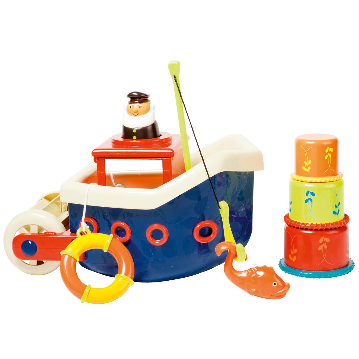 Bateau De Pêche De Bain à Jeux Pour Enfant De 3 Ans