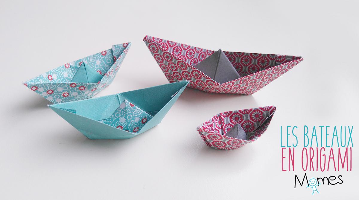 Bateau En Papier - Momes dedans Origami Petit Bateau