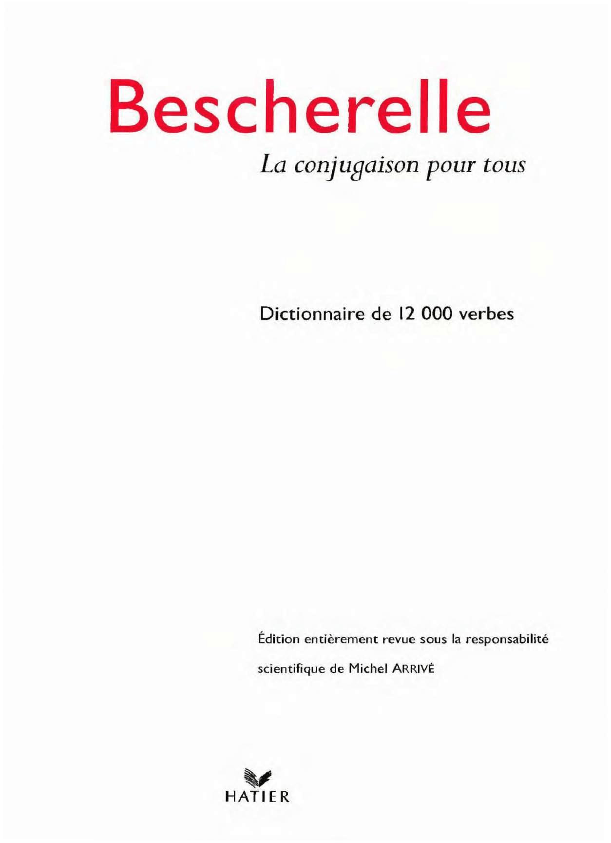 Bescherelle De Conjugaison - La Conjugaison - Docsity concernant Verbe Moudre À L Imparfait