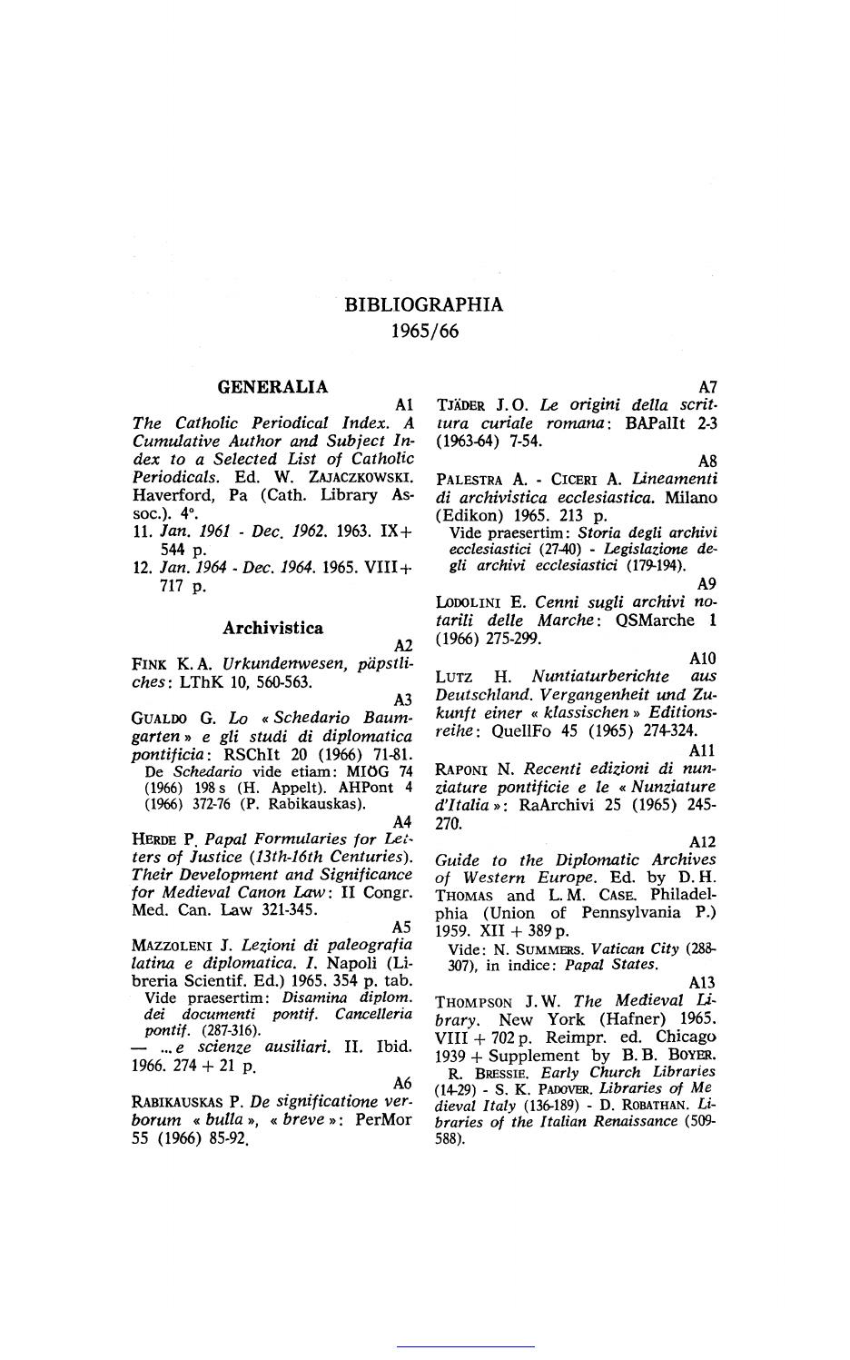 Bibliographia Historiae Pontificiae concernant A 7 Ans Anne Sylvestre