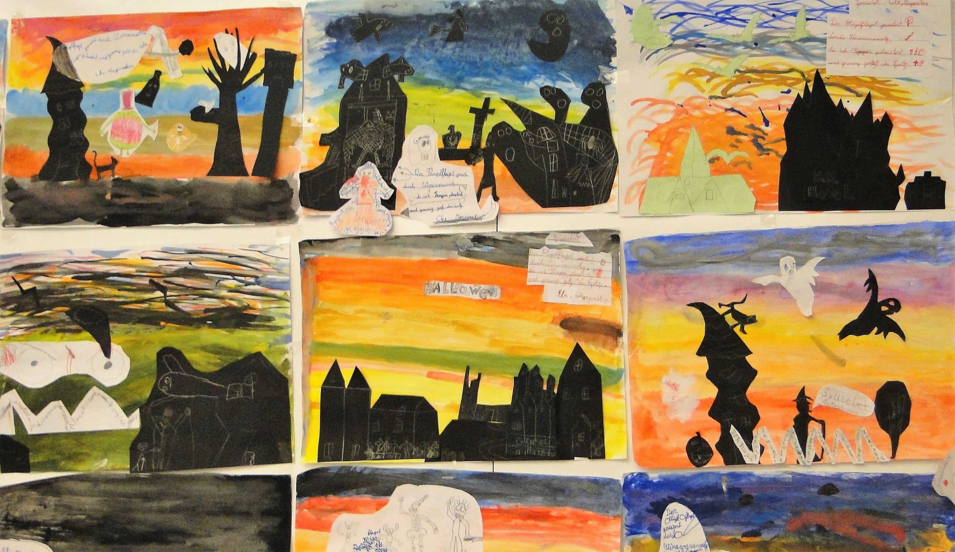 Bilder – Französische Schule Pierre Et Marie Curie pour Halloween Ce2