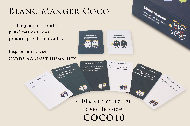 """Blanc Manger Coco - Pokeo.fr - Le Jeu De Cartes """"blanc tout Jeu En Ligne Pour Adulte"""