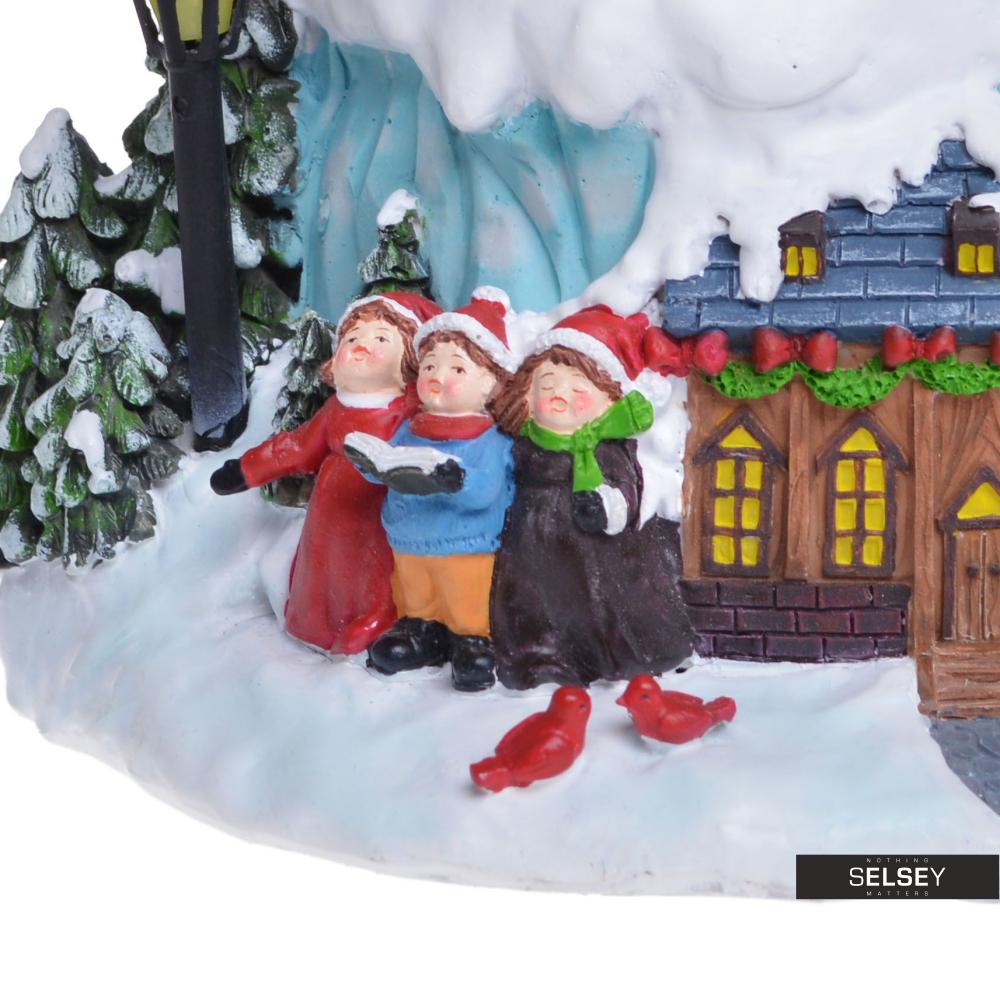 Boîte À Musique Avec Boule À Neige Père Noël Dans Son Traîneau serapportantà Image Du Pere Noel Et Son Traineau