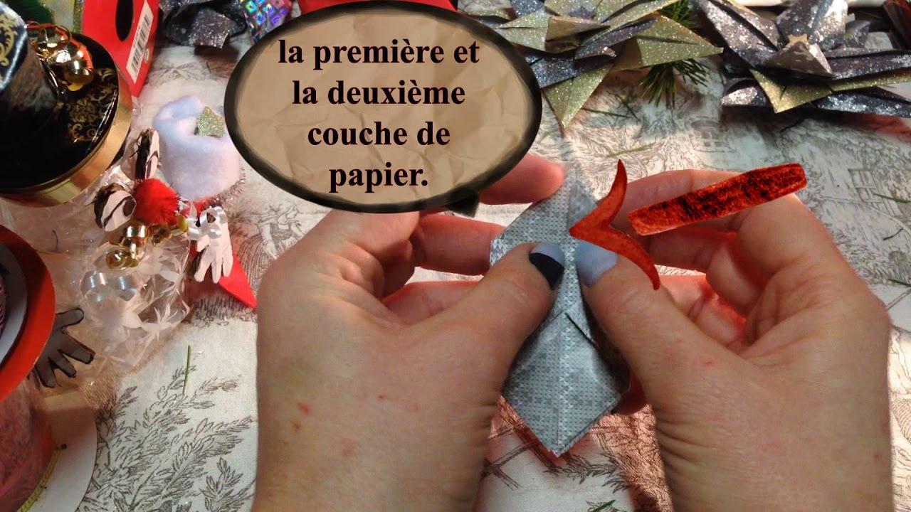 Bonhomme De Neige - Origami destiné Origami Bonhomme De Neige